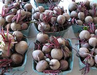 Beets grow better in cold weather than most vegetables.