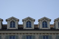 Dormers add light and space to top floors.