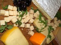 Gouda cheese is an excellent addition to any appetizer buffet.