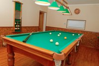 A finished basement can increase the enjoyment and the value of your home.