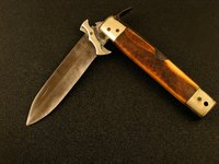 A pocket knife can be kept sharp with a wet stone.