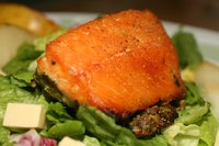 Steam salmon fish properly for a quick and healthy meal.
