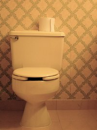 An overflowing toilet can cause water damage in floors and ceilings.