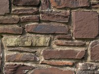 An example of a masonry wall.