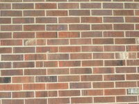 Brick veneer is not maintenance free.
