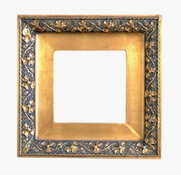 PIctures often stick to glass frames because of their coatings.