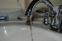 Replace your Moen bathroom faucet cartridge when the water pressure drops.