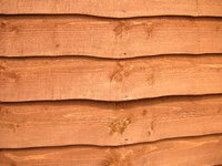 Cedar fencing can withstand the weather and insects.
