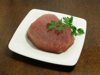 The tuna that produced this steak was caught in saltwater.