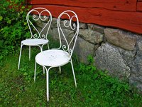 Paint your cast aluminum furniture any color you like.