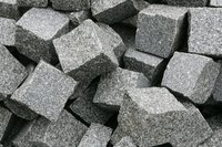 Buy a cheap granite scrap and mimic the design for realism.