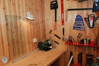 Find an alternative to traditional pegboard can be necessary if you are hanging heavy items.