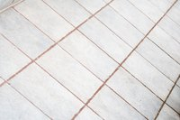 Unsealed tile grout holds onto stains and dirt like a sponge.