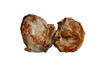 Pork chops are a healthy, lean alternative to steak and other red meat.