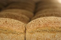 Sesame seeds are popular toppings for bread.