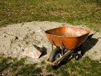 Adding sand to your soil can help with drainage problems.