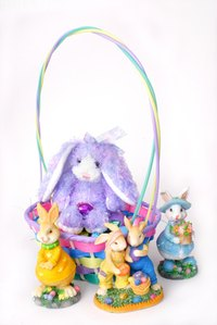 Easter gifts for godchildren ehow a small easter basket can be filled with personalized items and toys for your godchild negle Image collections