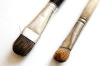 Make your next paintbrush from human hair.