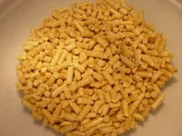 Buy pellets to heat your home.