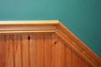 Try to remain consistent with the other trim in your home.