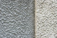 Choose a classic stucco texture or a smooth one for your fireplace.