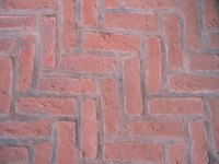 Clean inside brick flooring to keep it attractive.