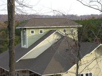 Preserve the appearance of your roof by removing black stains promptly.