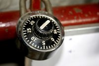 Combination locks are simple to open provided you have the code.