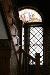Installation techniques for stained glass windows vary depending on the current window setup.
