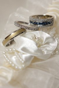 Diamonds and platinum are both associated with the 70th wedding anniversary.