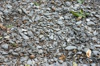 Gravel mixed with sand or soil can be found in any yard.