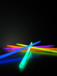 Use glow-in-the-dark sticks for the scavenger hunt.