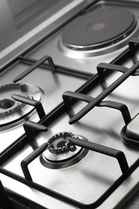 Remove burned marks from your stovetop to keep it in good condition.