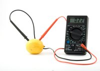 A multimeter switched to its resistance function acts like an ohmmeter.
