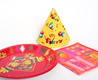 Ramp up the celebration with custom paper plates!