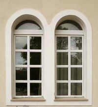 Keep your windows looking neat and clean by removing any sticker glue residue.