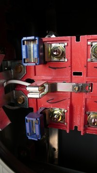 Main outside circuit breakers occasionally need replacing.
