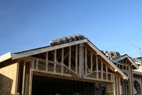 Trusses have become the standard for residential roof framing.