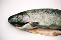 Fish and other seafood products can leave a strong, unpleasant odor in your refrigerator.