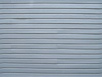 Metal siding can be installed vertically or horizontally.