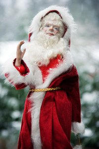 Buy a quality beard and wig to enhance your Santa costume.