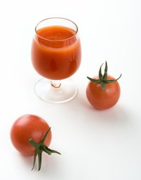 Keep tomato juice in a sealed container in the refrigerator after opening.