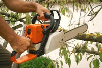 Chainsaw blades should be sharp to cut wood quickly and operate correctly.