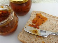 Preserve chutney by storing it in the freezer.