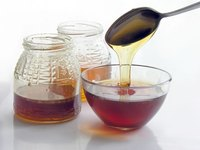 You can easily substitute corn syrup for honey in most recipes.