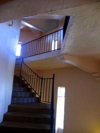 Stairs need railings to keep your friends and family safe.
