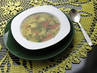 Stock and broth serve different culinary functions.