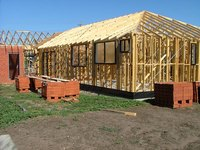 Wood is only one of several different types of house framing.