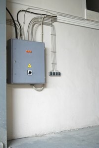 All of a home's electrical circuits originate from the breaker box.