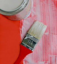 Paintbrushes can leave unsightly brush marks on dried paint.